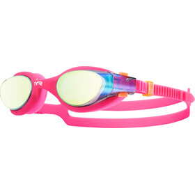 TYR Vesi Lunettes de protection Mirrored, gold/pink